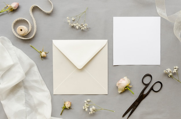 Elegant wedding invitation collection