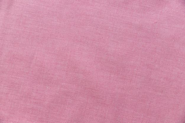 ピンクの繊維の背景の高さのビュー