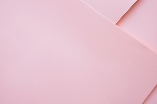 Elevated view of pink colored craftpapers