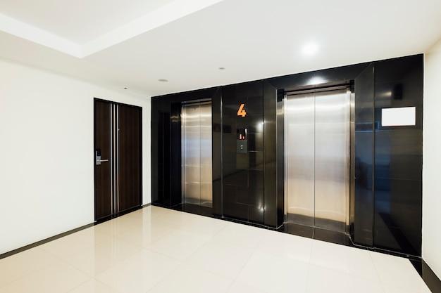 Elevator in building