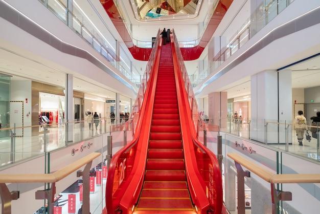 Shapingba district, jinsha tianjie 쇼핑 센터 엘리베이터