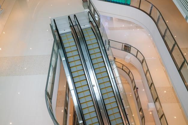 Jinshatianjieショッピングセンターのエレベーター