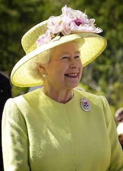 Elizabeth woman england ii portrait hat queen