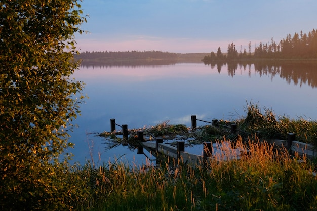 Elk island's last light