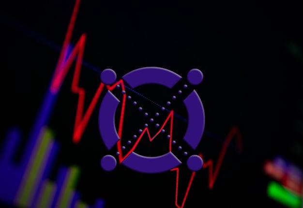 交換チャート上のelrondegld暗号通貨コイン成長チャート