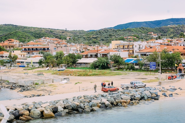 Embankment of greece