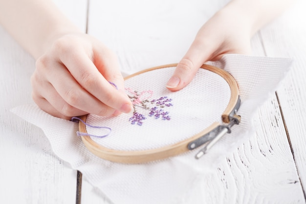 Embroidery and cross stitch accessories.