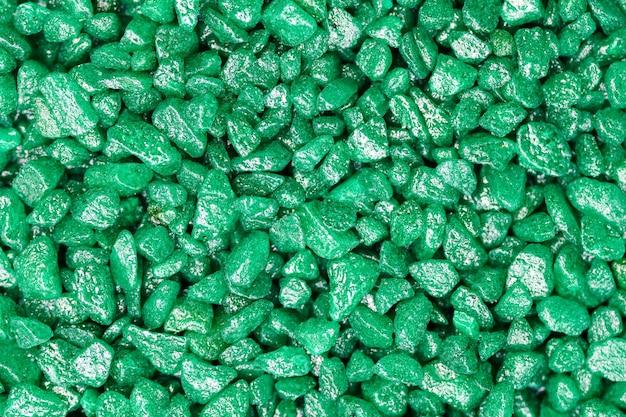 エメラルドグリーンの宝石のテクスチャ背景
