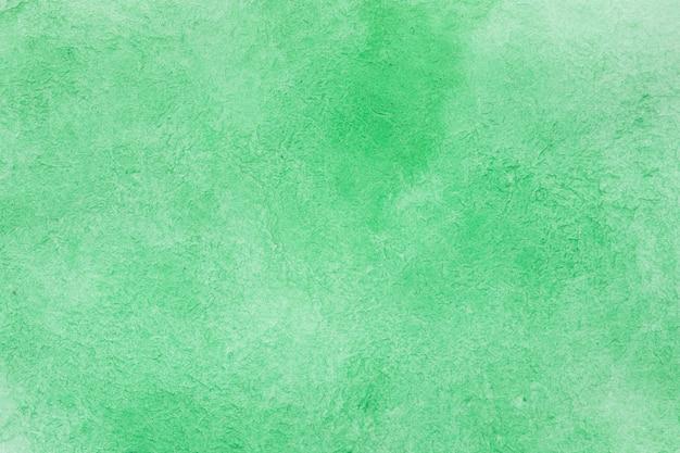 Emerald handmade technique aquarelle