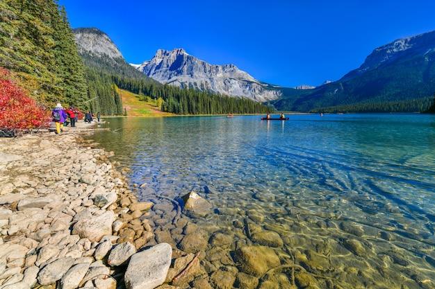 エメラルド湖、カナダのヨーホー国立公園