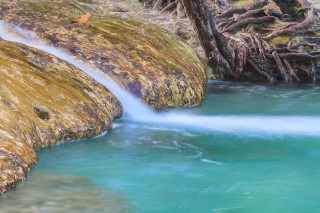 Emerald pool (sra morakot) krabi province , thailand.