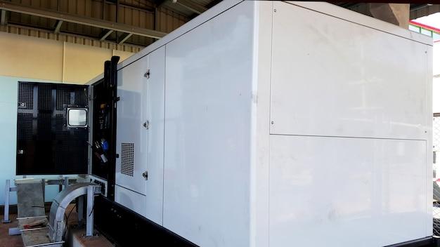 Установка и тестирование аварийного дизель-генератора