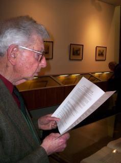 Emeritus professor douglas taylor in the
