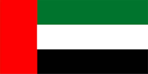 Emirati flag of united arab emirates