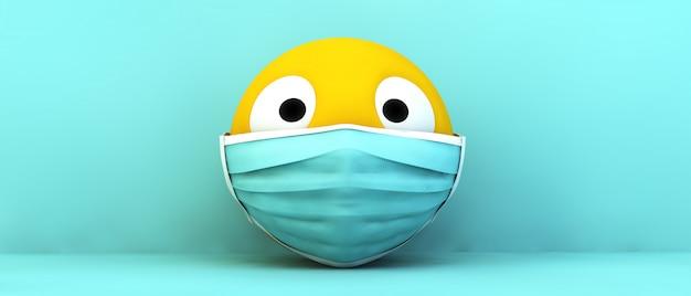 Эмодзи с медицинской маской