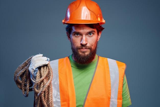 感情的な労働者の建設制服の専門家