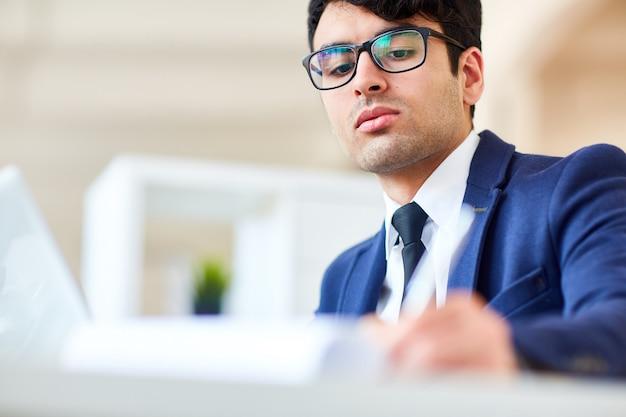 Employee working