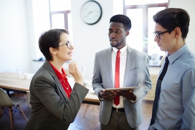 Employer and subordinates