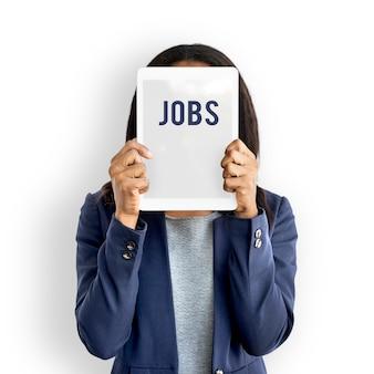Opportunità di lavoro assunzione di posti di lavoro icona