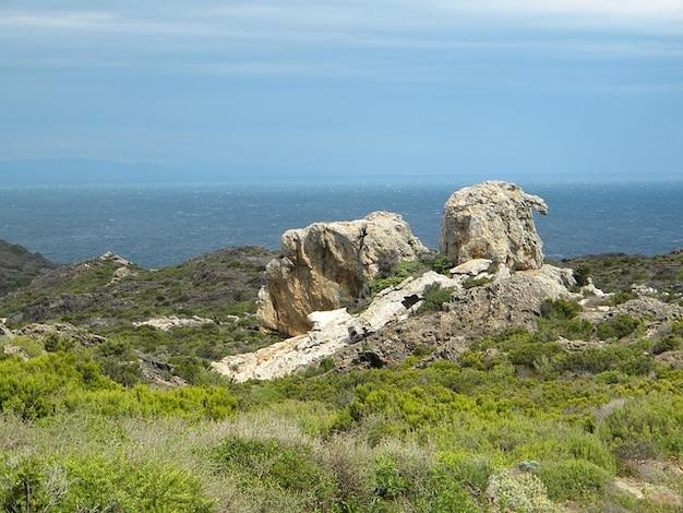 Жирона де крышкой природного парка empord creus alt