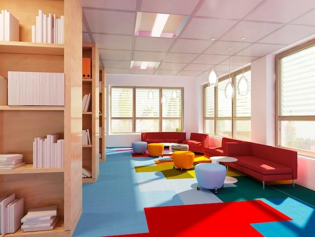 Библиотека empry в современной школе