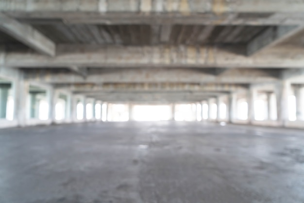 Empty abandoned building for background