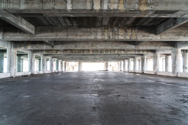 Empty abandoned building