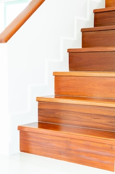 Empty architecture of stair design