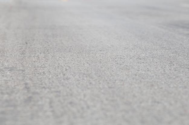 An empty asphalt road. journey in thailand.