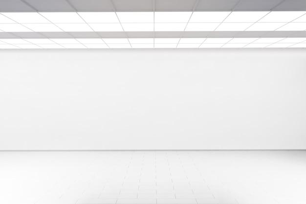 Пустая стена большого зала