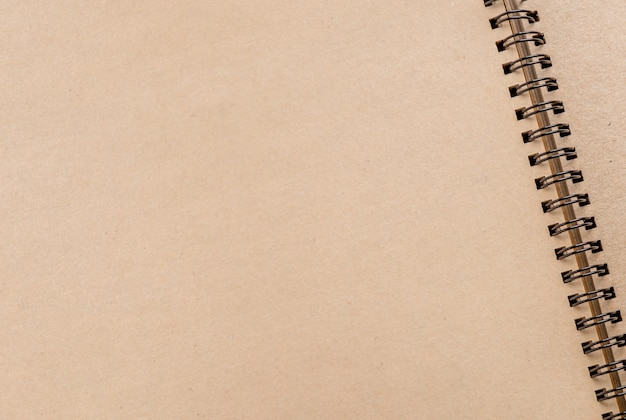 Empty blank  sketch book
