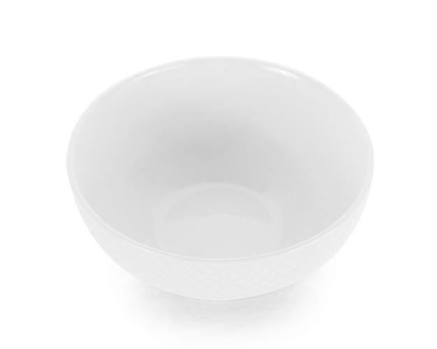Пустая чаша, изолированные на белом фоне.
