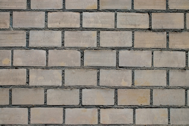 Empty brick wall textured background.