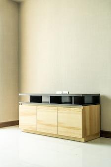 Empty cabinet in room interior