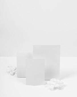 弓の配置で空のカード
