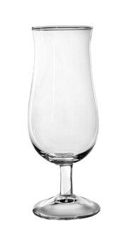 白で隔離空のカクテルグラス