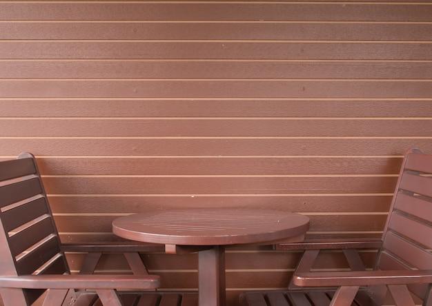 Пустой кофейный столик в кофейном магазине