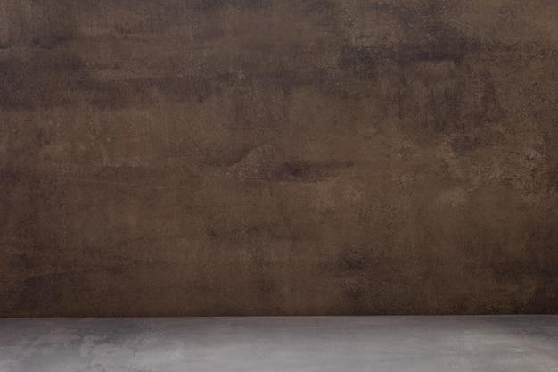 前面の空のコンクリート背景テクスチャサーフェス