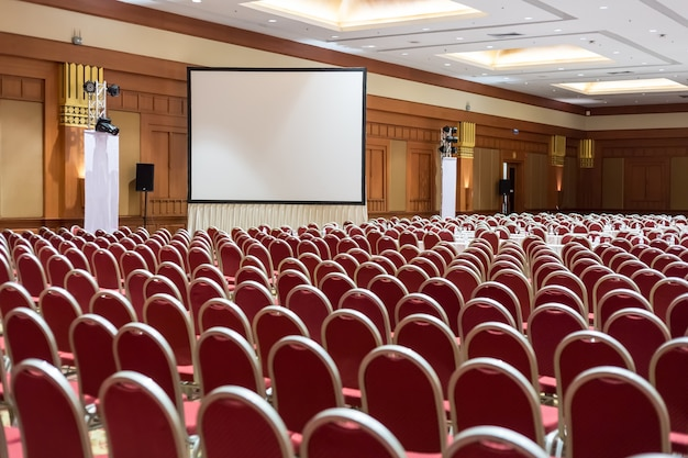 Empty conference hall or seminar room background. meeting room,