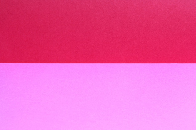 Empty copy space from colored paper.red and pink color sheet background