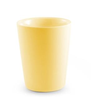 白の空のカップ。