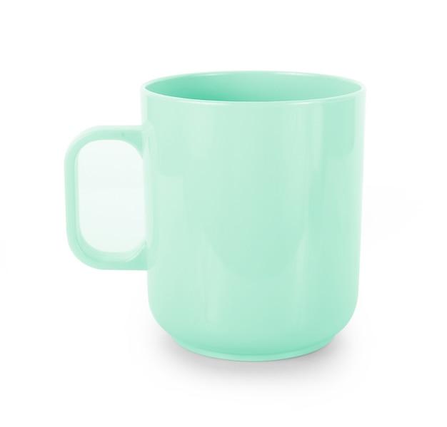 白の空のカップ