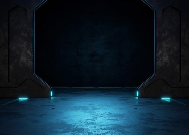 Пустая темная комната