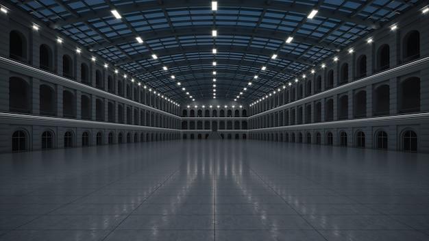 Пустое выставочное пространство. деловой форум