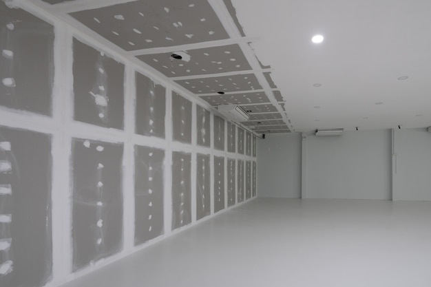 Empty factory during decorate interior
