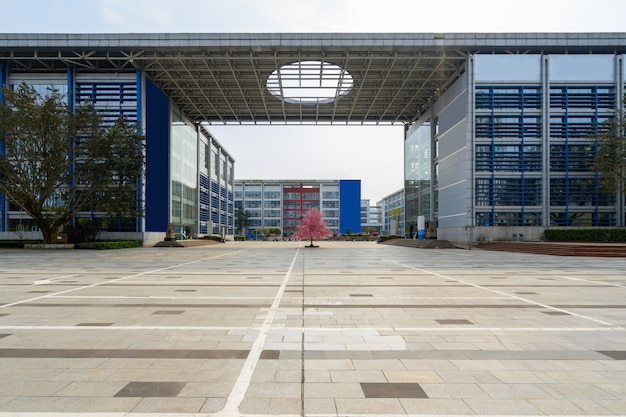 Empty floor and office building in science park, chongqing, china