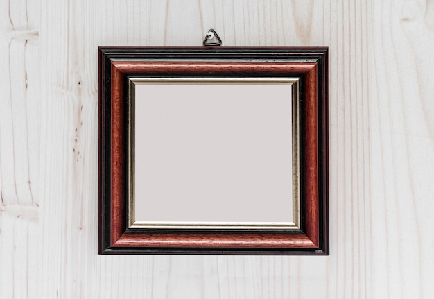 An empty frame ready to be filled.
