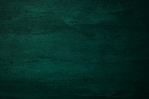 Empty green chalkboard or school board