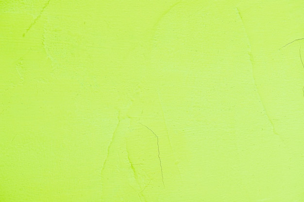 Empty green painted textured wall