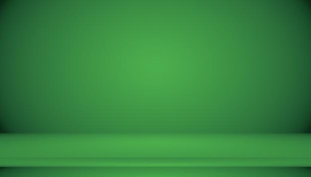 Пустую зеленую студию можно использовать в качестве фона, шаблона веб-сайта, рамки, бизнес-отчета.